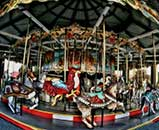 Old Carousel Broadway at the Beach