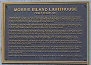 Information about the Morris Island Lighthouse