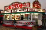 Pizza stand Broadway at the Pavilion Nostalgia Park