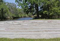 The Labyrinth at Brookgreen Gardens