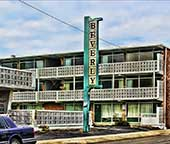 Front of the Beverly Motel, 703 N Ocean Blvd